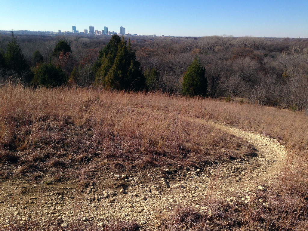 The Overlook Trail in Fort Worth.