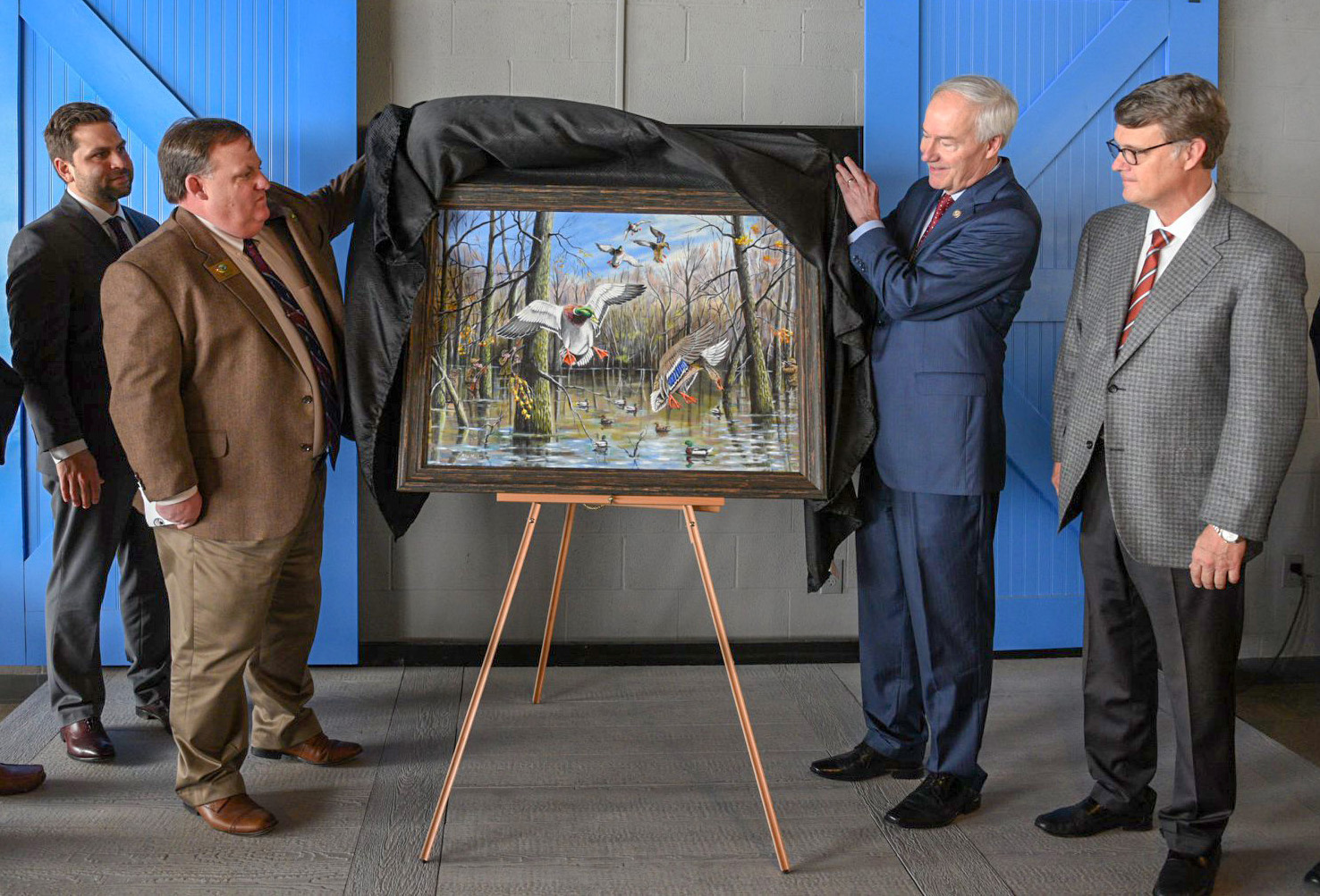 Mike Marlar unveiling